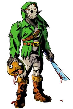 link__the_killer_from_camp_hylia_lake_by_michaeljlarson-d5buca4