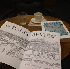 Paris Review & Espresso, Starbucks, Seongnam, South Korea. #ReadEverywhere