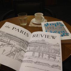 Paris Review & Espresso, Starbucks, Seongnam, South Korea. #ReadEverywhere