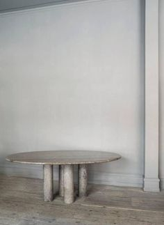 Vintage Marble Table from the 1970s | See more antique and modern Tables at https://www.1stdibs.com/furniture/tables/tables
