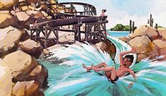 Abandoned: The Rise, Fall and Decay of Disney's River Country.   Very interesting read. Highly suggest!