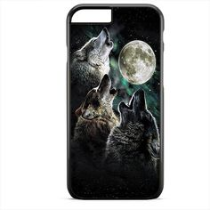 Three Wolf Moon Animal Apple Phonecase For Iphone 4/4S Iphone 5/5S Iphone 5C Iphone 6 Iphone 6S Iphone 6 Plus Iphone 6S Plus