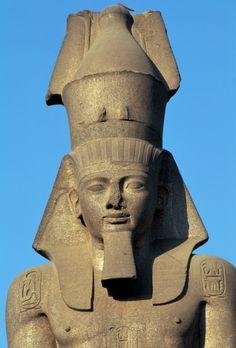 Colossal statue of Ramesses II, Cairo, Egypt, Egyptian civilization, New Kingdom, Dynasty XIX, Detail