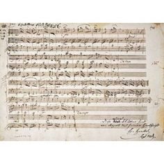 Six Contre Danses KV 462 for two Violins and Bass Canvas Art - Wolfgang Amadeus Mozart (20 x 28)