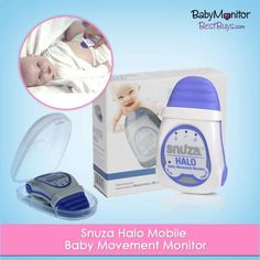 Snuza Halo Mobile #Baby Movement #Monitor: Need not worry about your baby while he/she is snoozing. The Snuza Halo ensures that your precious preemie is breathing during naptime and if the breathing stops it shouts out an alarm within 20 seconds.