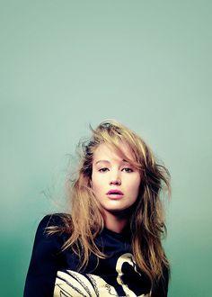 Jennifer Lawrence pout.