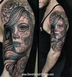 Darren Wright Tattoos.