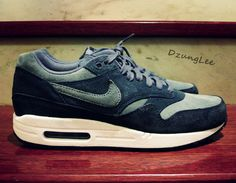 Blue Suede Nike Air Max 1
