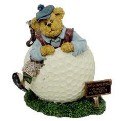 Amazon.com - Boyds Golfer Bear Wilson Putterstuff #2277991 - Collectible Figurines+