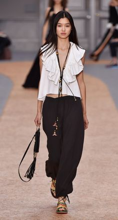 Look 30 from the Chloé Spring-Summer 2016 collection