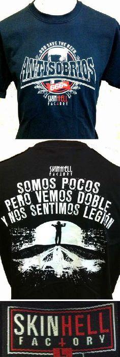 16 euros. Pedidos y +600 modelos: www.barrio-obrero.com  MARCA SKINHEAD IMPORTADA DEL INFIERNO. PRESENTACION IMPECABLE: ETIQUETA TEJIDA, EMBOLSADA CON CARTON Y ADHESIVO DE REGALO. -ADVERTENCIA- 100% ANTICRISTIANO ANTISOBRIOS - GOD SAVE THE BEER - SOMOS POCOS PERO VEMOS DOBLE Y NOS SENTIMOS LEGION.  -SKINHEAD & PUNK MAILORDER- WE SERVE ORDERS TO ALL COUNTRIES