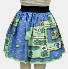 Hey, I found this really awesome Etsy listing at https://www.etsy.com/listing/104848393/mario-two-levels-full-skirt
