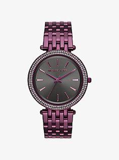 Darci Plum-Tone Watch by Michael Kors