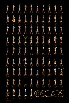Official 85 Years of Oscars poster.