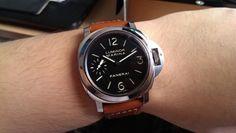 Panerai PAM 111 Luminor Marina Manual Wind 44mm Men's Watch - PAM00111 - Used Panerai 111, Luminor Marina, Watch Over Me, Smart Watch, Manual, Watches For Men, Luxury Watches, Smartwatch, Top Mens Watches