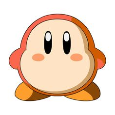 Waddle Dee Kirby ❤ liked on Polyvore featuring kirby