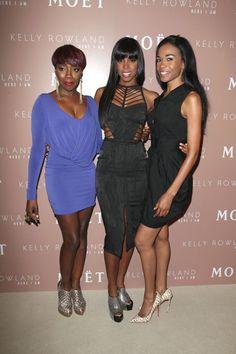 Destinys Child reunites for Kelly Rowlands album release party