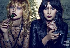 Gigi and Bella Hadid are Unrecognizable (and Extra Sexy) in New Fashion Shoot