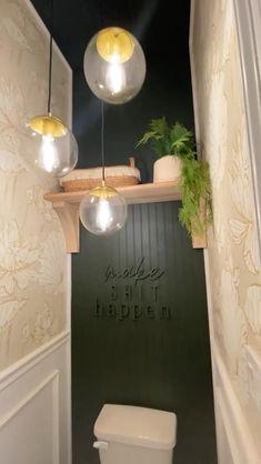 Home Room Design, Bathroom Interior Design, Interior Decorating, House Design, Diy Crafts For Home Decor, Diy Home Decor Bedroom, Room Decor, Home Remodeling, Bathrooms