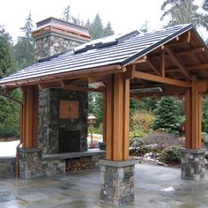 Outdoor Pavilions Design Ideas, Pictures, Remodel, and Decor - page 23