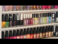 Build your own nail polish rack