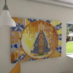 Painel decorativo Nossa Senhora Aparecida (Our Lady of Aparecida)