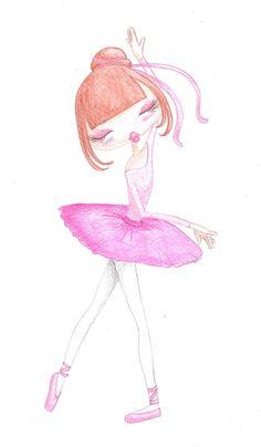 Bailarina de Ballet (mini Ana)
