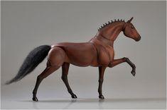 Realistic BJD Horse