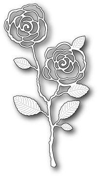 Memory Box Dies (Page 14) - 123Stitch.com Memory Box English Rose Stem Die Memory Box 99220
