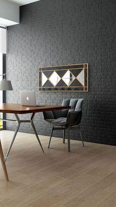 WoodBlack - Black Mamba II. Woodboz  WoodBlack koleksiyonundan duvarlarınız için benzersiz bir ahşap panel. Tamamen el işçiliği ile doğal masif ahşaptan yapılmıştır. Mutfak, oturma odası, yemek odası ve ofisler için ideal bir duvar dekorasyon ürünüdür.   Ürün ölçüsü: 140x60x2,2 cm'dir. Wood Mirror, Table, Furniture, Home Decor, Decoration Home, Room Decor, Tables, Home Furnishings, Home Interior Design