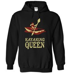 Kayaking Queen - 0915 T Shirts, Hoodies. Check price ==► https://www.sunfrog.com/LifeStyle/Kayaking-Queen--0915-6714-Black-Hoodie.html?41382 $39.99