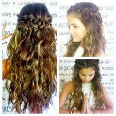 Selena Gomez hair! #MoreIsMore