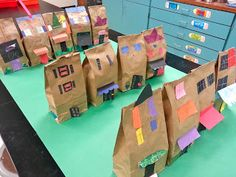 Paper Bag Buildings (1st)