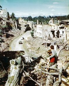 The Ruins of Normandy - 1944