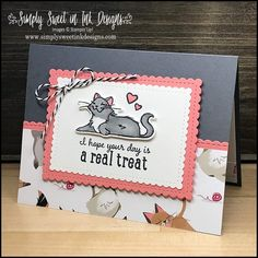 Dog Cards, Kids Cards, Card Making Inspiration, Making Ideas, Stamping Up Cards, Rubber Stamping, Animal Cards, Cool Pets, Card Sketches