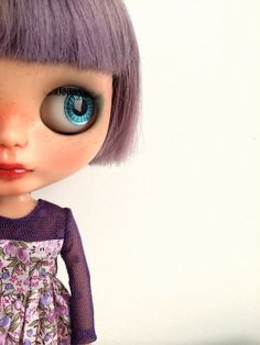 Neo Blythe Lavender dress by MINIJIJO on Etsy, $20.00
