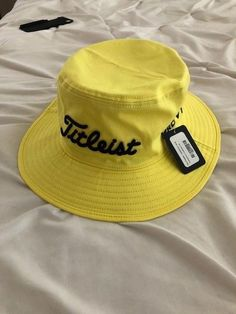 fd554b7df87 NEW Titleist RARE Jerod Lyle Bucket Hat L XL TOUR ISSUE (eBay Link)