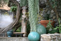 Heather Lenkin garden by brewbooks, via Flickr