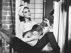 Moon River. One of my favorite songs, and movie scenes. (Audrey Hepburn in Breakfast at Tiffany's)