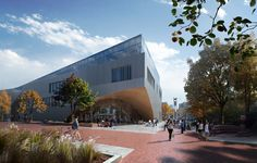 Snøhetta's Library for Temple University Begins Construction,Courtesy of MIR & Snøhetta