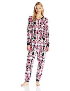 0e9a0d759 Disney Women s Classic Minnie Union Suit  Disney  OnePiece Winter Wardrobe