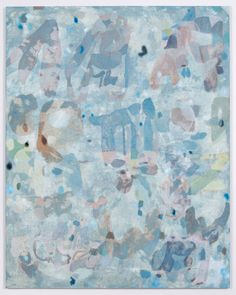 Clare Grill ~ Froth, 2014. Oil on linen, 63 x 50 inches