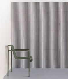 Via thehardt Rombini by Mutina + French design duo Ronan & Erwan Bouroullec. The designers created a range of porcelain tiles for ceramics brand Mutina that can be combined to create various pattern and shape configurations. the mix-and-match Rombini collection features three differently shaped models in five muted colours:grey, blue, green, red and white #patterns #designers #designer #tile #tiles #pattern #instadesign