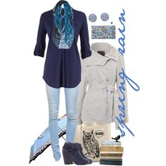 """""""Spring Rain"""" by mk-style on Polyvore"""