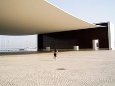 Pavilion of Portugal. Alvaro Siza Vieira. Lisbon, Portugal