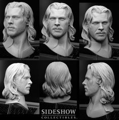 THOR Sideshow Sculpt by TrevorGrove on DeviantArt