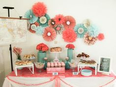 I love this background decoration-it would be so easy to make for all kinds of celebrations!