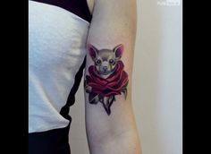 Avis aux amateurs d'art, de tatouages et d'animaux (bien sûr), cette galerie est faite pour vous!  Ces tatouages sont réalisés par l'artiste…