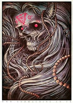 Look at expressions of Death as a reminder of what's most important in Life. Death is inevitable, Life is not so get the greater blocks of good living out of the way first. ©godmachine