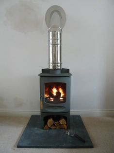 Dimplex Dummy Flue Pipe Black Pipes Stove And Wood Burner